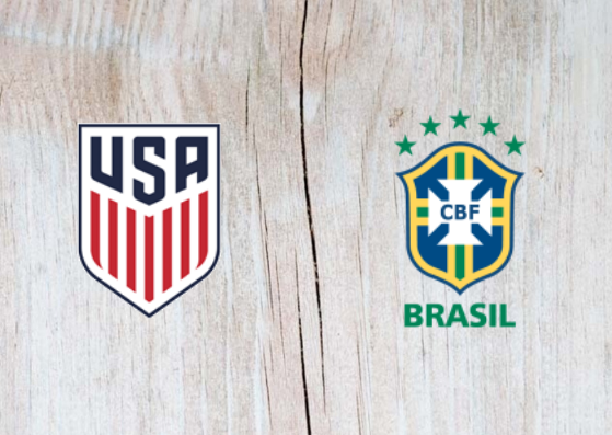 USA vs Brazil Full Match & Highlights 08 September 2018