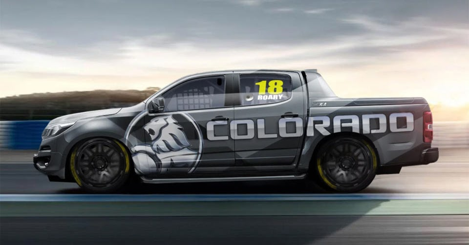 Holden Reveals Colorado Superute For New Racing Series