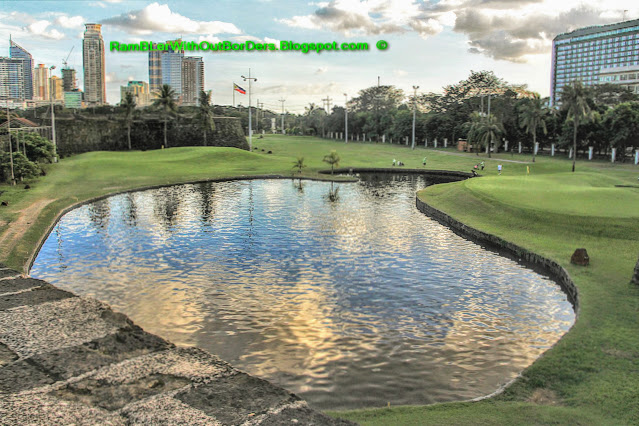 Golf course, No. 1 Victoria St, Baluartillo de San Jose, Intramuros, Manila, Philippines