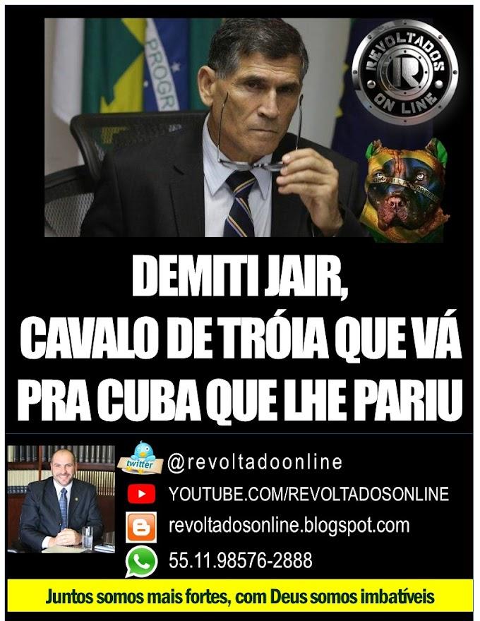 "🔴 RUA ""general"" cara brava Santos Cruz !"