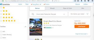 Nemu resor murah di Lombok yang saya temukan di Traveloka