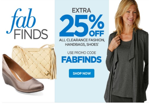 The Shopping Channel Extra 25% On Fashion Clearance Promo Code