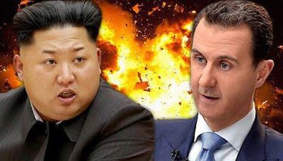 بشار وزعيم كوريا الشمالية
