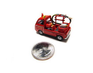 Tomica Limited Vintage fire pump