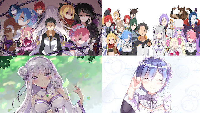 50 Wallpaper Re:Zero kara Hajimeru Isekai Seikatsu HD Untuk PC Komputer & Laptop