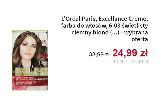Loreal Paris, farba do włosów