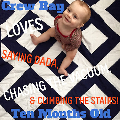 ASquared: Hello Crew: 10 months old