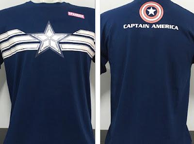 Kaos Superhero Captain America