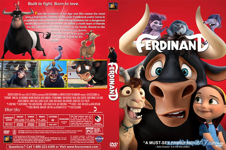 http://xemphimhay247.com - Xem phim hay 247 - Ferdinand Phiêu Lưu Ký (2017) - Ferdinand (2017)