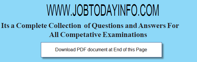 2500 General Knowledge(GK) Questions and Answers for SSC, Bank, RRB and other Exams Download Free PDF