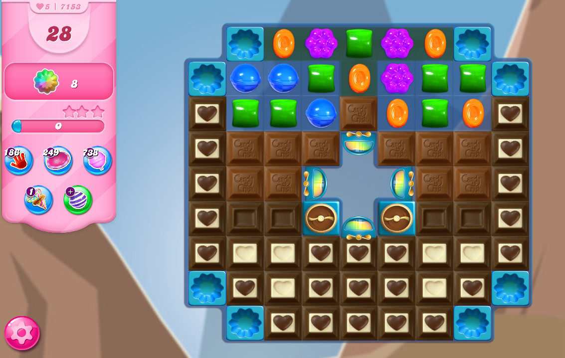 Candy Crush Saga level 7153