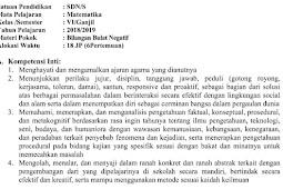 Download RPP Matematika Kurikulum 2013/K13 Kelas 6 SD Revisi 2018