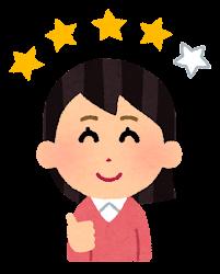 レビュアーのイラスト(女性4)