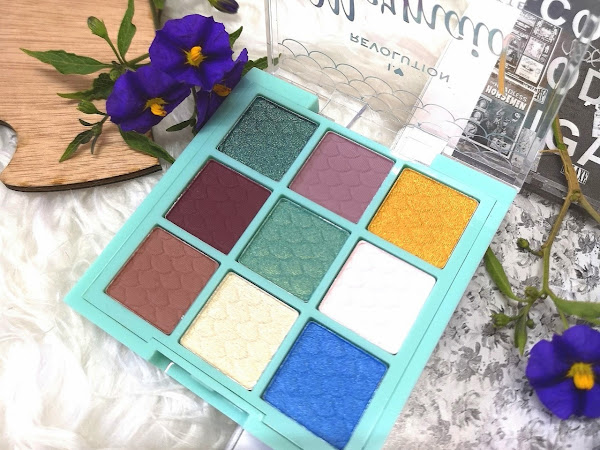 I Heart Revolution Fantasy Makeup Pigment Palette - Mermaid
