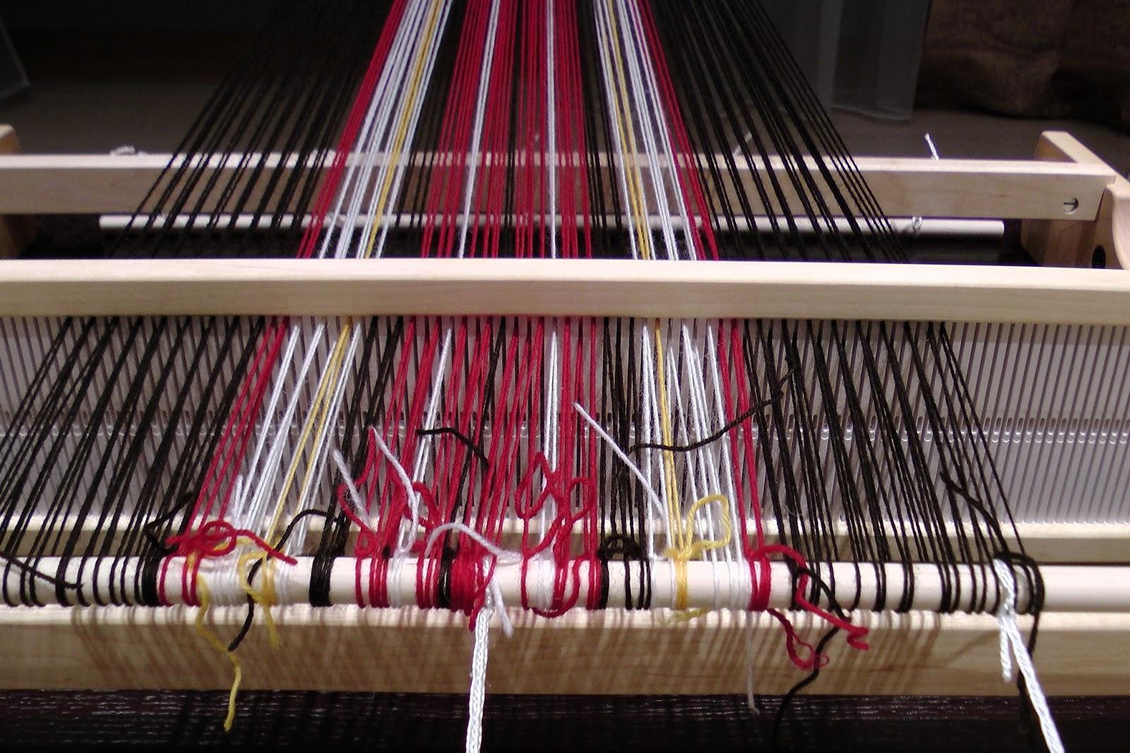 Weaving, knitting, crocheting   : Wool plaid scarf  First