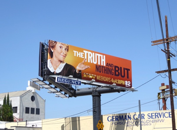 Judge Judy truth nothing but billboard