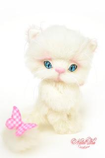 Artist kitten, cat, Katze, Kater, кот тедди, кошка, котенок, Коллекционные мишки тедди, авторские тедди, авторские игрушки, тедди, коллекция мишек тедди,друзья мишек тедди, NatalKa Creaions, artist teddy bears, ooak teddies, collectable teddies, stuffed toys, Künstlerteddys, teddies with charm, Teddybären, Teddy kaufen, teddy bears buy, Summer Lovin white Kitten, Влюбленные в лето