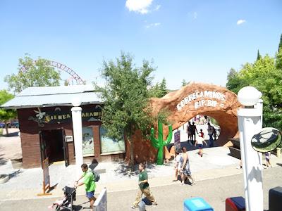 Correcaminos Bip Bip Parque Warner Madrid