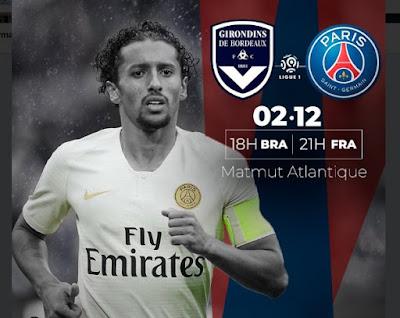 Assistir ao jogo de PSG x Bordeaux ao vivo online