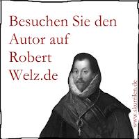 Pirat Francis Drake empfiehlt die Homepage www.robertwelz.de - Kölner Autor, Texter + Comic-Bildermacher.