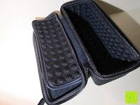 Klappe: Tragbare Tragetasche Lycra EVA Spielraum-Speicher-Schutzhülle Box Bag für Bose Soundlink Mini and Soundlink mini Ⅱ Bluetooth Wireless Speaker-Black