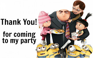 Despicable Me 3 Birthday Ideas