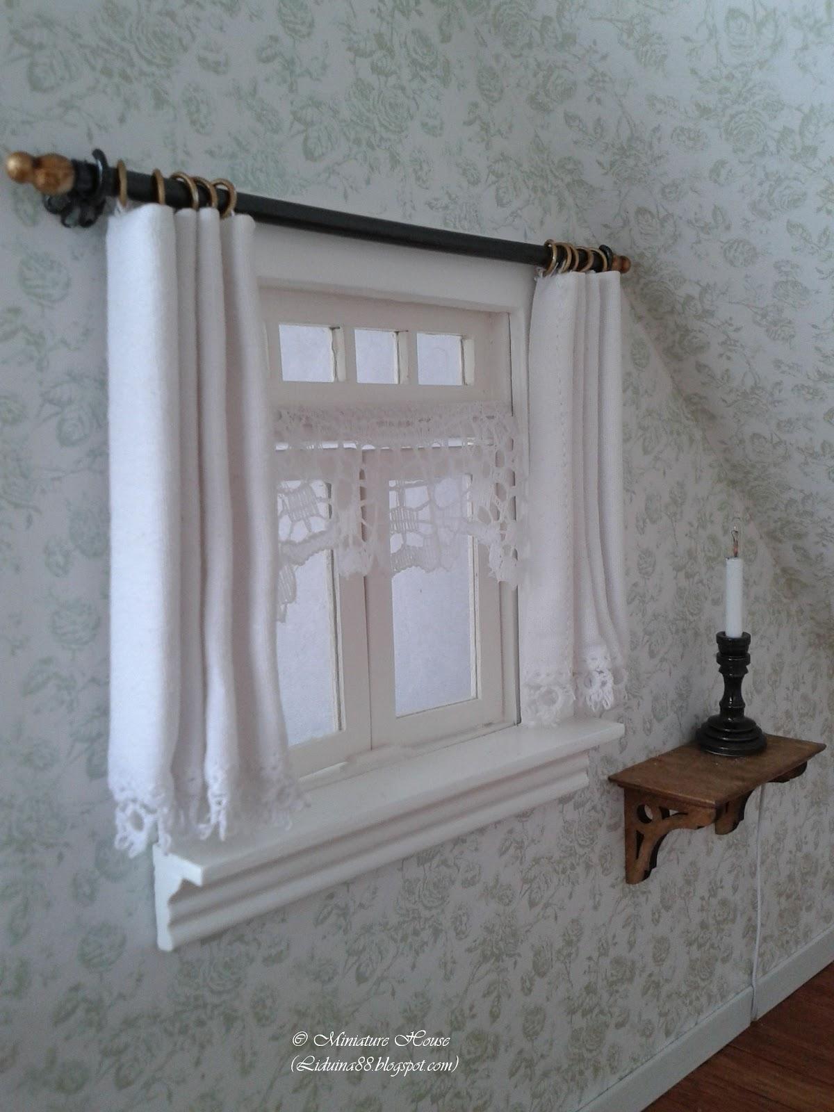 Miniature House Curtains Part Ii