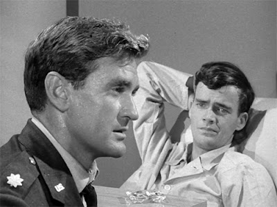 "Rod Taylor and Jim Hutton in ""And When the Sky Opened,"" The Twilight Zone, 1959"
