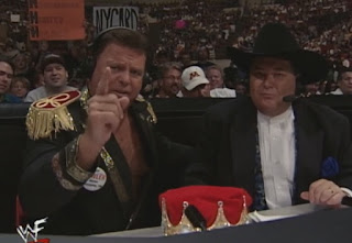 WWE / WWF - Summerslam 1999 - Jim Ross & Jerry 'The King' Lawler called the event