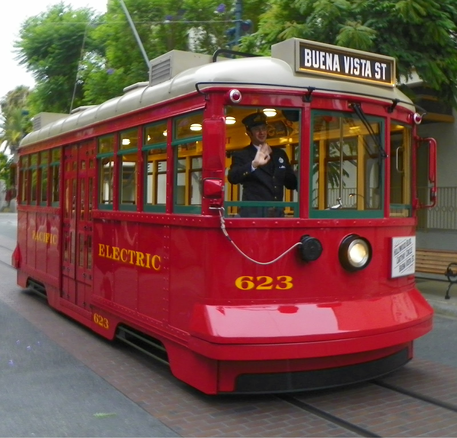 Pixie Pranks And Disney Fun: The Red Car Trolley