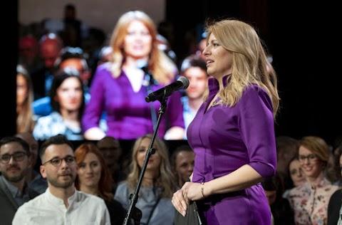 Szlovák elnökválasztás - Zuzana Caputová nyerte a voksolást