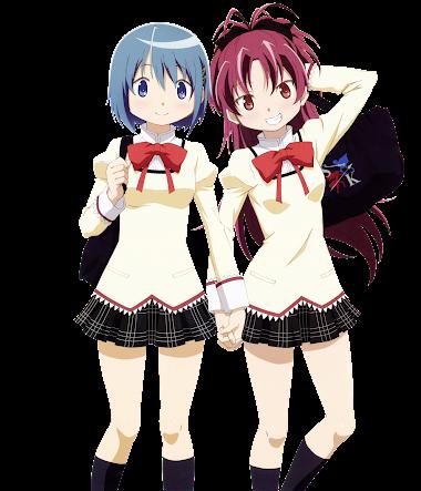 Render Miki Sayaka & Sakura Kyouko