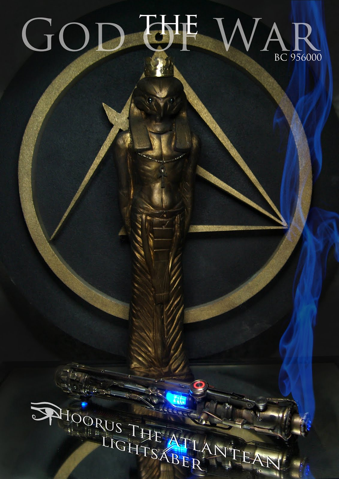 Hoorus the Atlantean Lightsaber