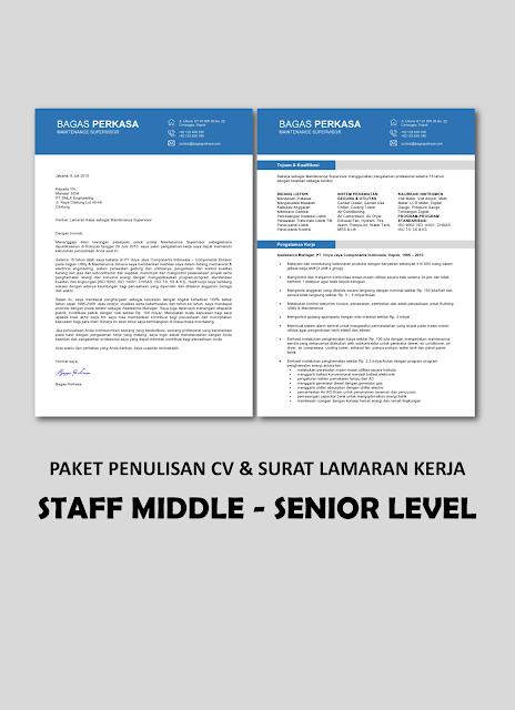 Paket Staff Middle - Senior Level