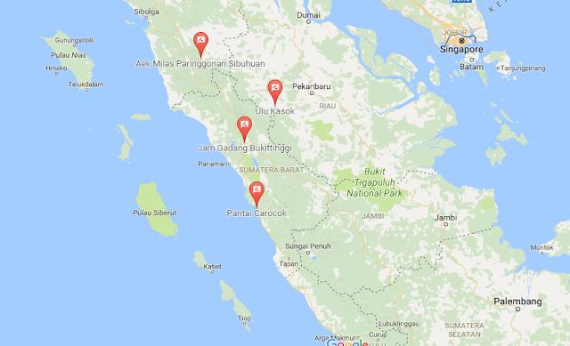 Letak Geografis Ulu Kasok