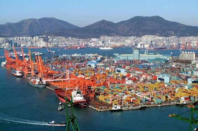 Busan, 20 million teus in 2017