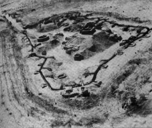 Η διάταξη ενός οχυρού της Γραμμής Bar-Lev