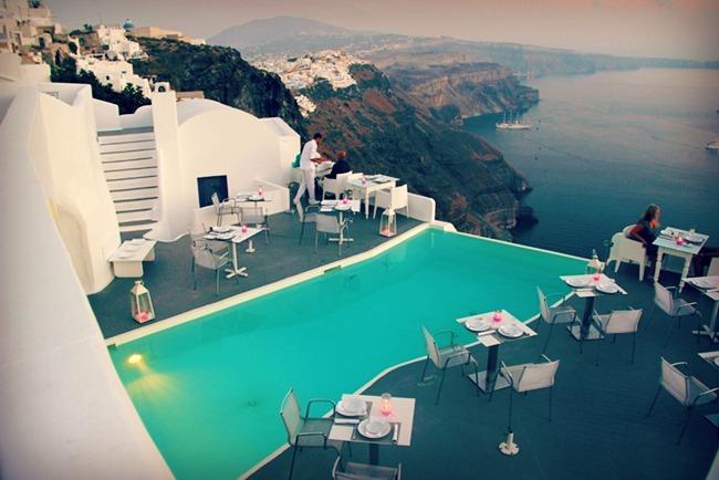 Santorini hotel Chromata