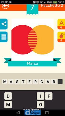 Iconica Italia Pop Logo Quiz soluzione pacchetto 2 livelli 7-50