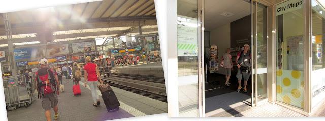 Estação de Trem e Posto de Informação Turística Munique