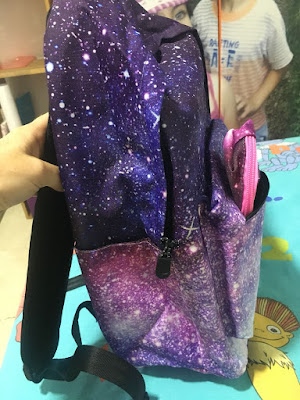 mochila, mochila escolar, mochila instituto, material escolar, estuche, joseko, galaxy,