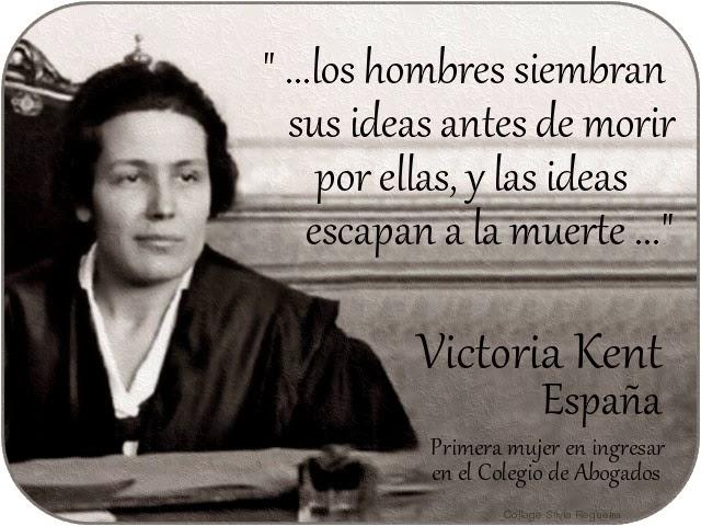 Mujeres Famosas Victoria Kent España