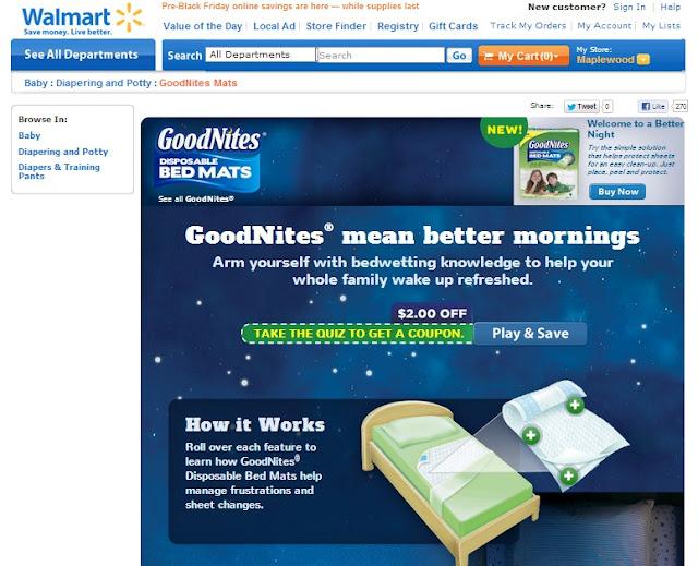 Disposable Bed Mats at Walmart