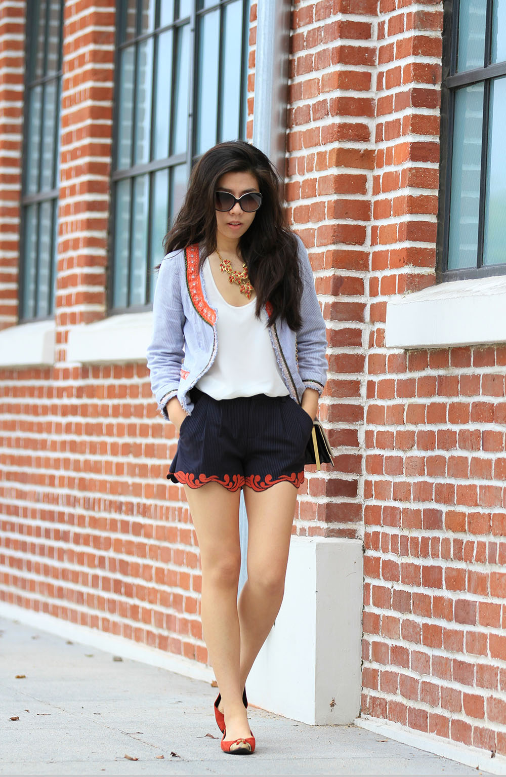 What to wear to a lunch meeting_California Fashion Blog_Adirnene Nguyen_Invictus
