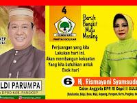 Bupati Pangkep Sedih, Istrinya dan Wakil DPRD Pangkep Tidak Dapat Lolos Ke Senayan