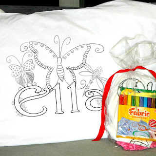 My Tampa Bay Mommy : Personalized Coloring Pillowcases $8.95 (Retail ...