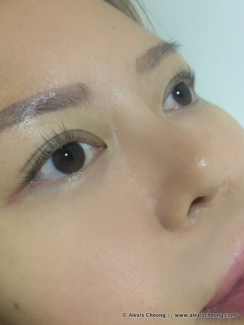 singapore keratin eyelash lift