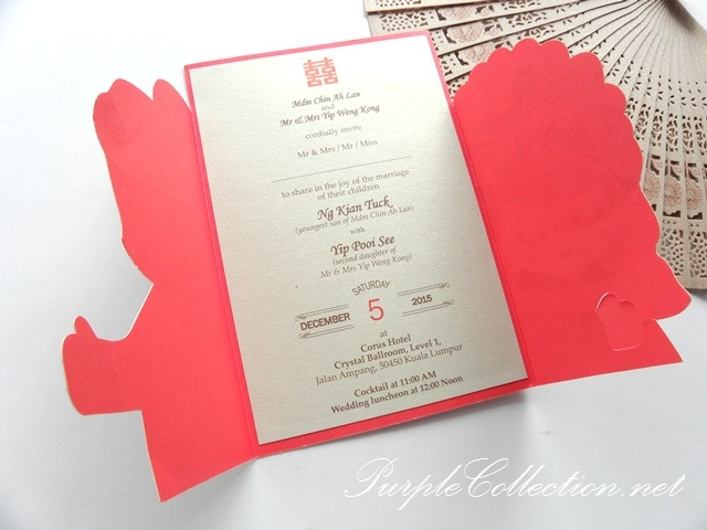 Wedding Invitation Card Wording Malaysia Popular Wedding – Chinese Wedding Invitation Cards