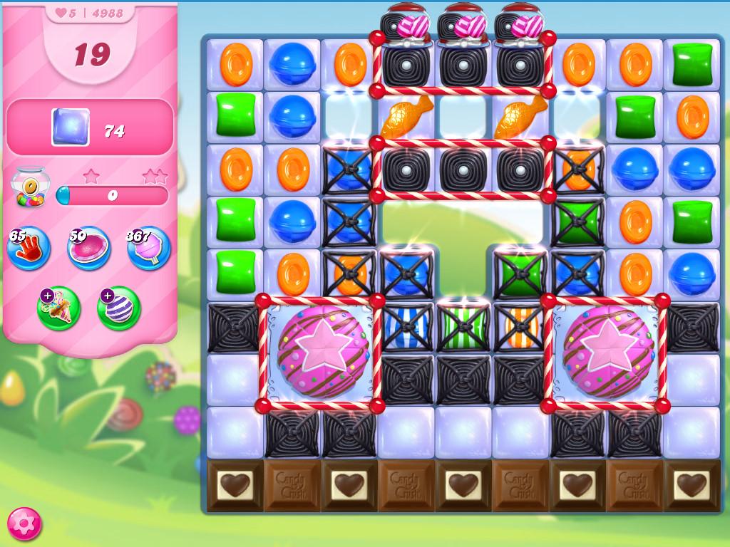 Candy Crush Saga level 4988