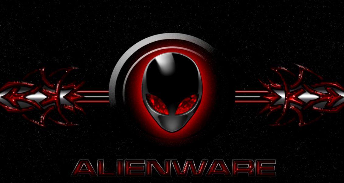 Red Wallpaper Alienware Logo